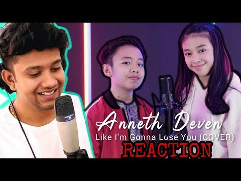 INDONESIAN IDOL Kids?? SINGER Reacts to Like I'm Gonna Lose You - Anneth & deven cover