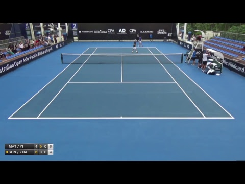 Australian Open 2018 Asia-Pacific Wildcard Play-off | Court 2 | Day 2