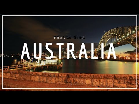 AUSTRALIA Travel Tips: 6 Tips before Holidays to Australia