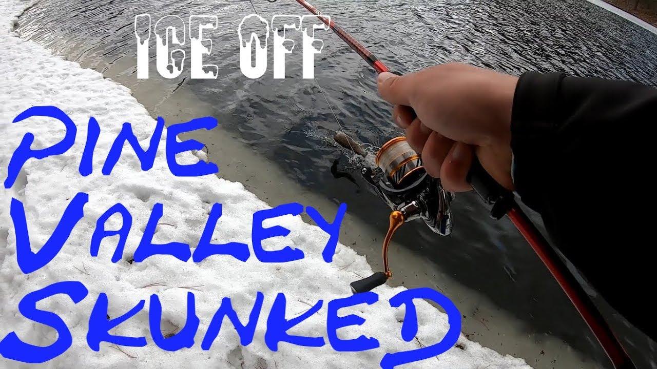 ICE OFF | SKUNKED at Pine Valley Reservoir | Utah fishing ...