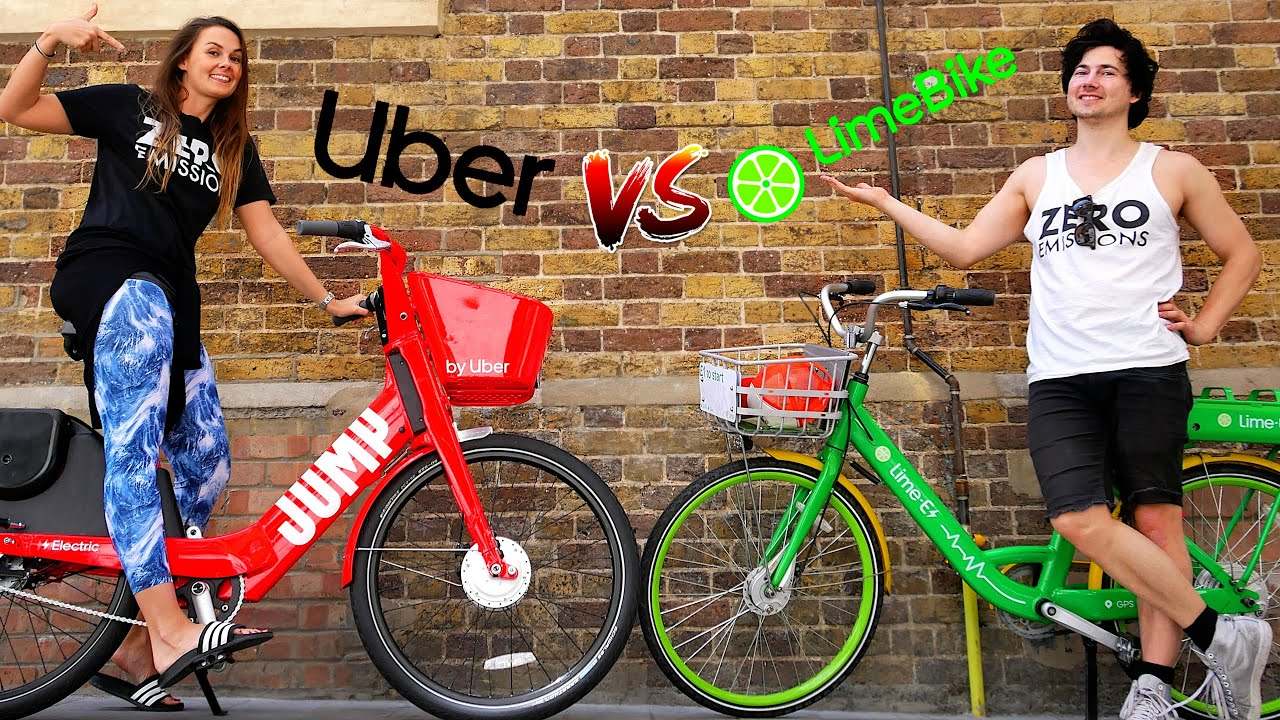 Uber Jump E Bike Review Vs Lime Electric Bikes London Youtube