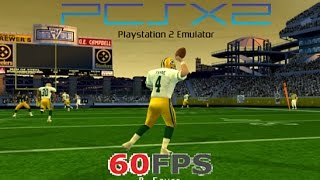 NFL Quarterback Club 2002 PS2 PCSX2 on PC HD 60fps gameplay (2001)
