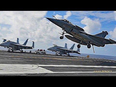 French jets aboard USS GHW Bush