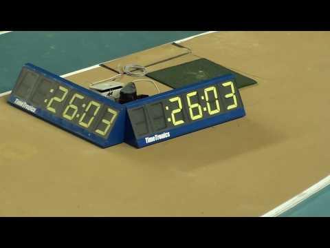 İstanbul U18 Türkiye Salon Şampiyonası 200 metre kızlar 13  seri