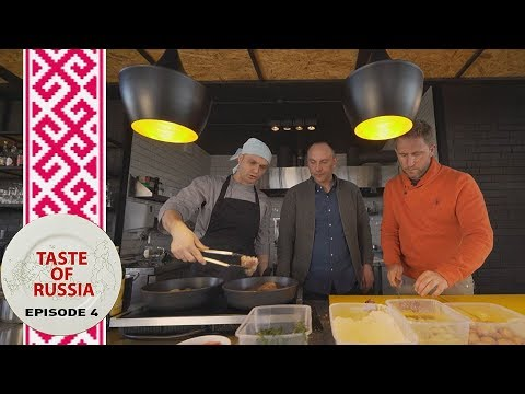Bugs Bunny's worst nightmare: Rabbit on the menu - Taste of Russia Ep.4