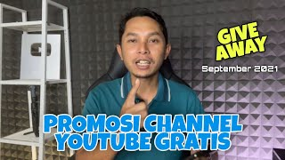 Giveaway Promosi Channel Youtube September 2021
