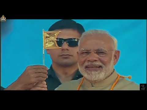 Narendra Modi at Mahamastakabhisheka 2018