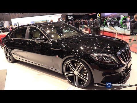2017 Mercedes-Maybach S600 Brabus 900 - Exterior Interior Walkaround - 2017 Geneva Motor Show
