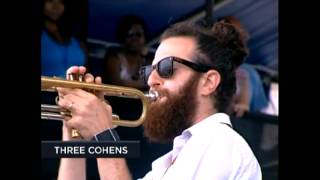 The Mooche (Duke Ellington cover) Three Cohens live with Aaron Goldberg 2012