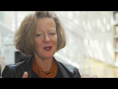 Curator Mary Schneider Enriquez discusses the works of Doris Salcedo