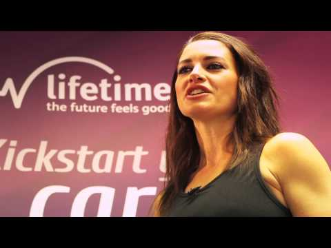 Lifetime Training - Case Study - Kirsty Gallacher learns to personal train herself