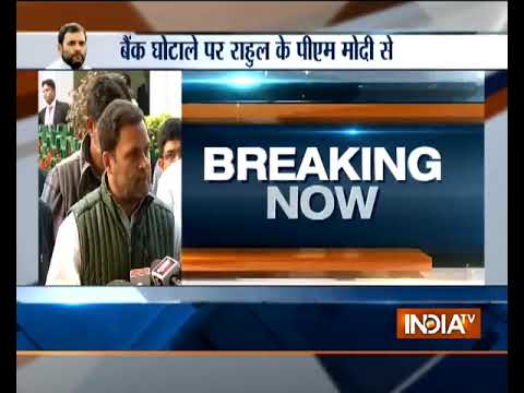 'PNB fraud began with demonetisation': Rahul Gandhi launches blistering attack on PM Narendra Modi