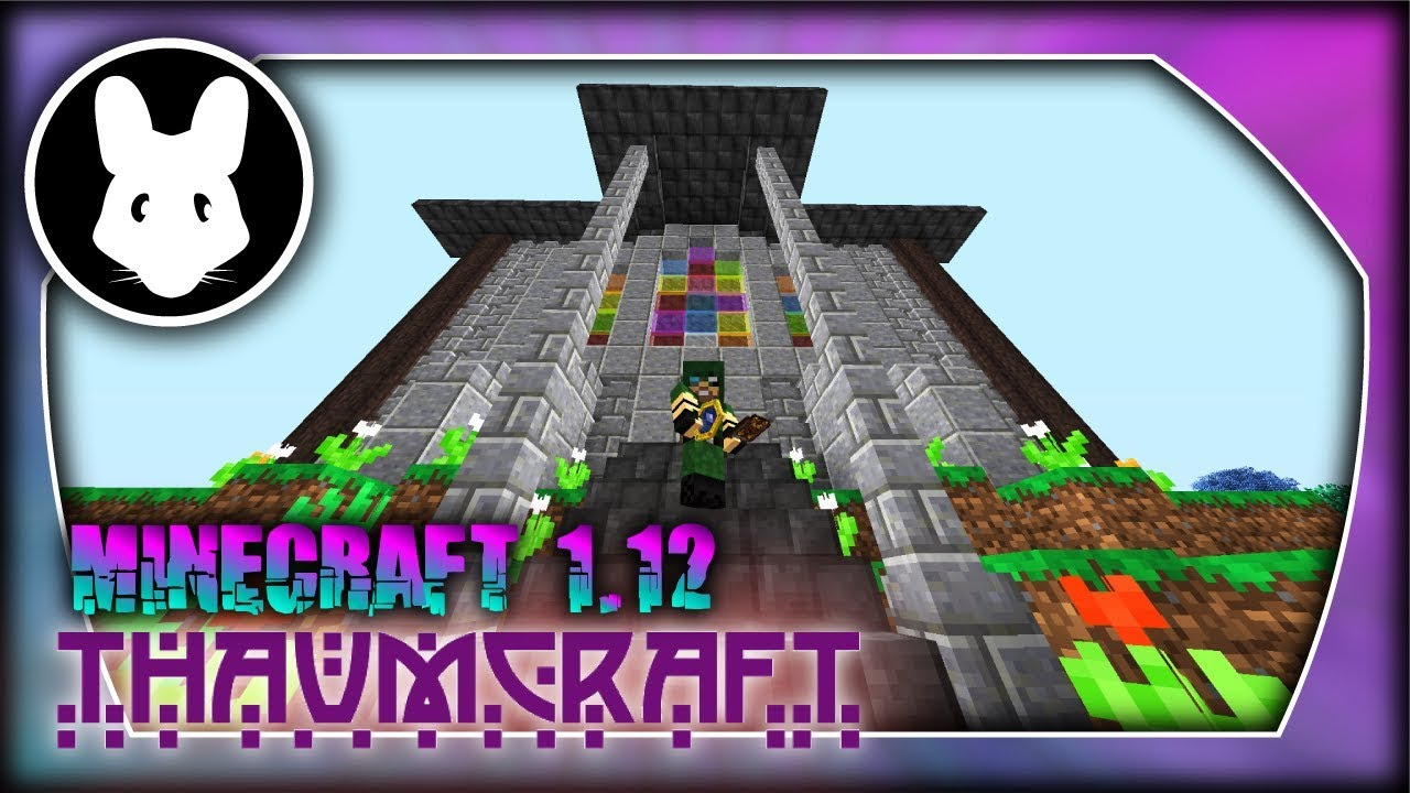Thaumcraft Minecraft 1 12 Getting Started! Bit-by-Bit by
