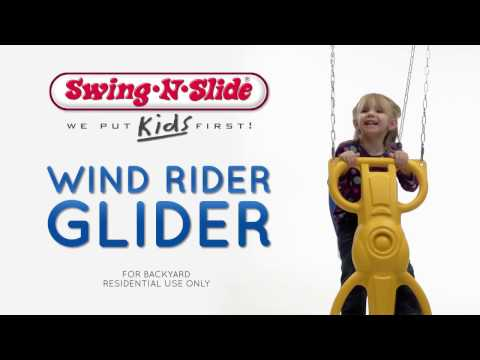 Swing-N-Slide Wind Rider Glider