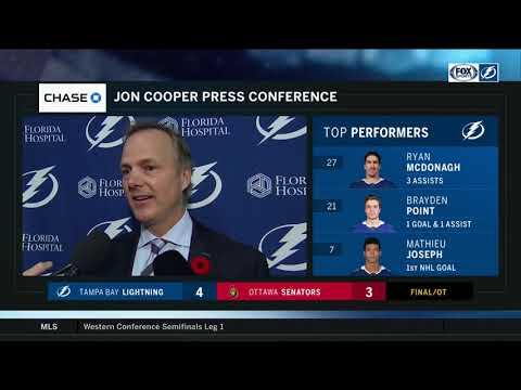 POSTGAME REACTION: Tampa Bay Lightning at Ottawa Senators 11/04/2018