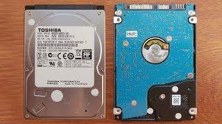 Обзор  Жесткого диска Toshiba 2.5