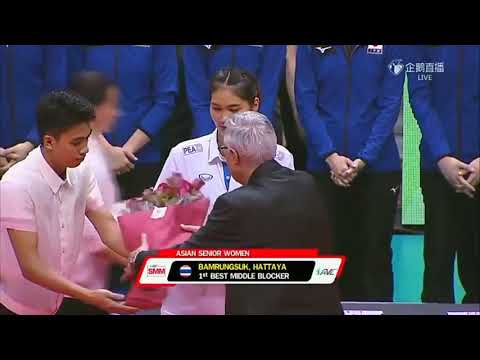 AVC Awarding Congratulation Team Japan