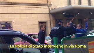 Polizia ferma gruppo di rumeni aggressivi a Cagliari