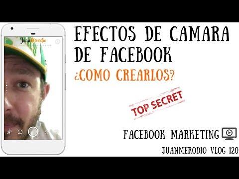 (NUEVO en Facebook) CREA EFECTOS DE CÁMARA ¿Como crearlos para tu marca?