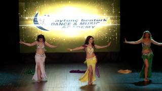 Aytunc Bentürk D.A yıl sonu gösterileri 2017 Oryantal Show 1