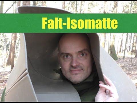 bw isomatte faltbar ist der nachbau sein geld wert youtube. Black Bedroom Furniture Sets. Home Design Ideas