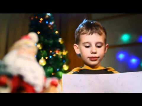 Рекламный ролик. Роснефть Новый Год, акция для детей