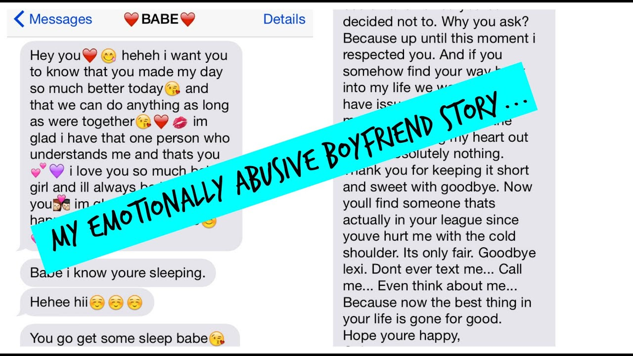 Boyfriend mentally abusive 64 Signs