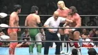 Mitsuharu Misawa & Kenta Kobashi vs. Steve Williams & Johnny Ace - AJPW 04.03.1995 Part.1