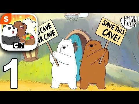WE BARE BEARS MATCH 3 REPAIRS - Stop Construction - Gameplay Walkthrough Part 1 (iOS Android)