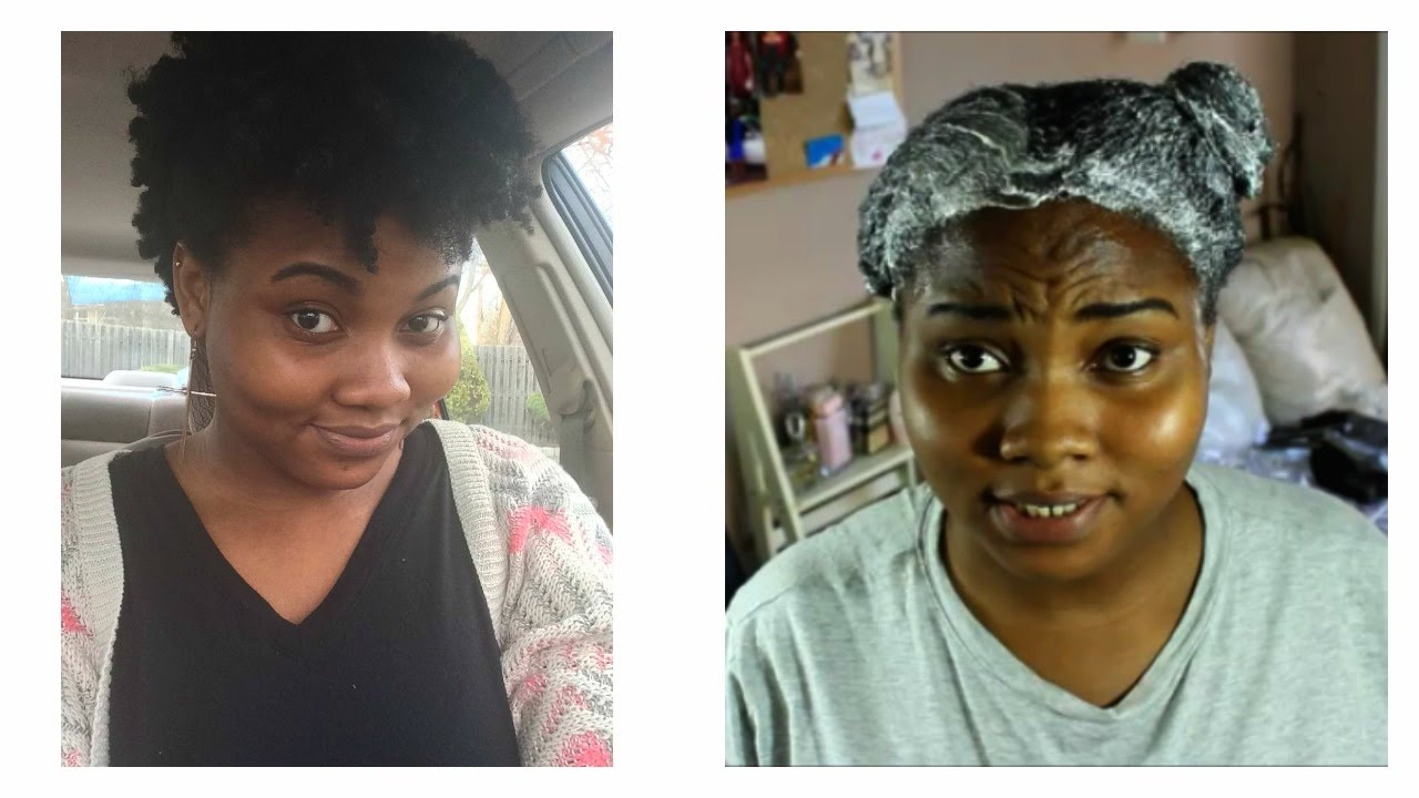 How to relax natural hair for the first time