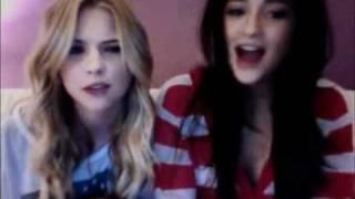 Shay Mitchell & Ashley Benson Live Chat 4/5/11 Part 1
