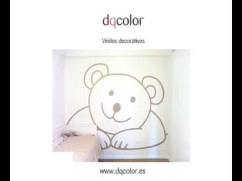 Vinilos decorativos infantiles para decoracion de paredes - Vinilos infantiles pared gotele ...