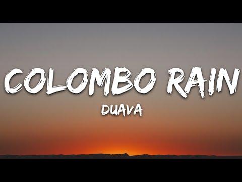 Duava - Colombo Rain (Lyrics) [7clouds Release]