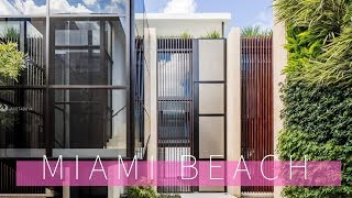 Tour Top Miami Beach Mansions $18 Million Dollar Waterfront Homes