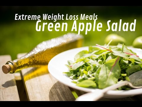 extreme-weight-loss-meals---green-apple-salad