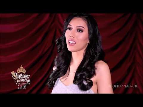 #Binibini23 Ena Velasco  Interview - Binibining Pilipinas 2018