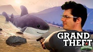 HUNTING MEGA SHARK (Grand Theft Smosh)