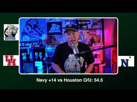 Navy vs Houston Free College Football Picks and Predictions CFB Tips Saturday 10/24/20
