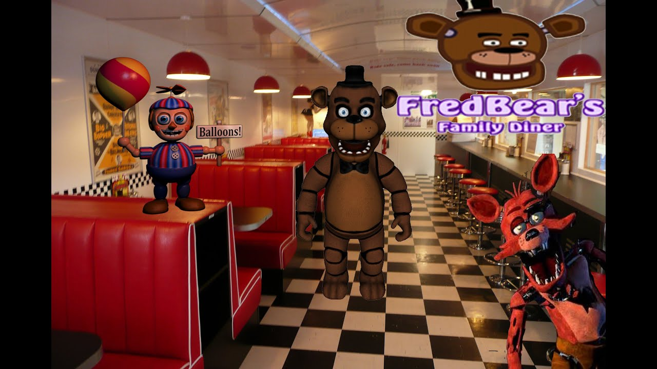 Garry 39 s mod fredbear 39 s family diner update video youtube for Family diner