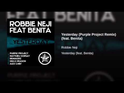 Yesterday (Purple Project Remix) (feat. Benita)