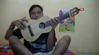 Cara stem gitarlele-Urutan nada senar gitarlele