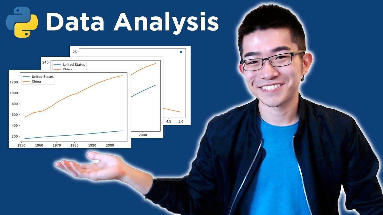 Intro to Data Analysis / Visualization with Python, Matplotlib and Pandas |  Matplotlib Tutorial