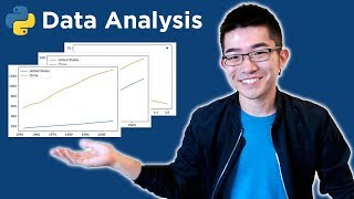 Intro to Data Analysis / Visualization with Python, Matplotlib and Pandas | Matplotlib Tutorial