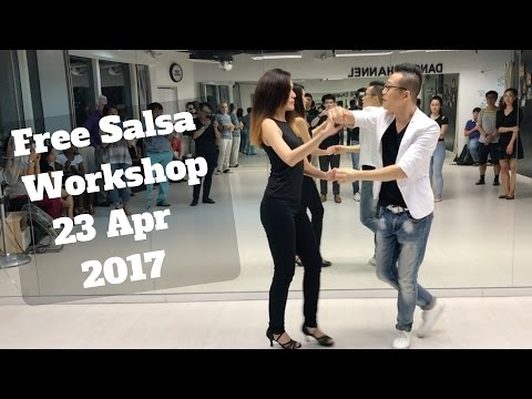 Free Salsa Workshop 23 Apr 2017 - Sunday Night Latin Singapore