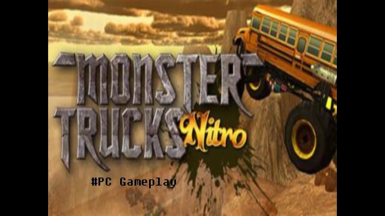 Gameplay Monster Truck Nitro Pc Youtube