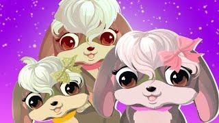 Three Little Puppies - Baby Songs &  Nursery Rhymes | Cartoon Videos