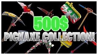 HUGE Pickaxe Collection! Kodak wK's FULL Fortnite Locker Showcase!