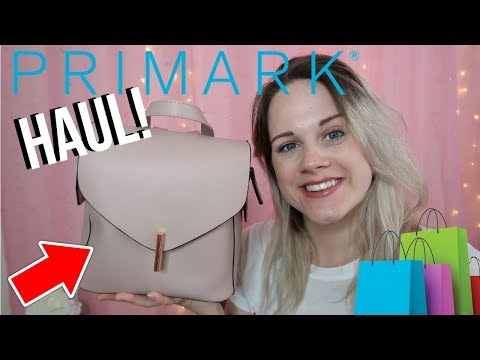 👠HUGE PRIMARK HAUL! *CLOTHES, BAGS, ACCESSORIES & SHOES* 🛍️