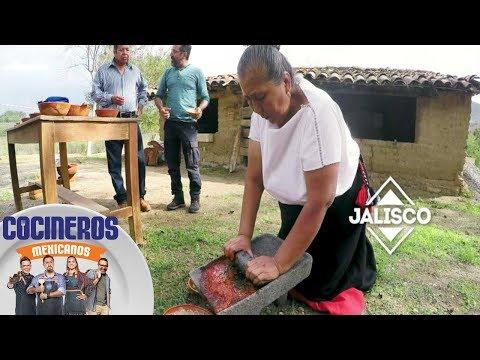 Nico descubre en Jalisco el único banco de maíz | Cocineros Mexicanos