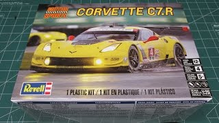 Revell Corvette C7R Model Kit Review 85-4304